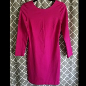Banana Republic Pink Bodycon Style Fit Sz 6P Dress